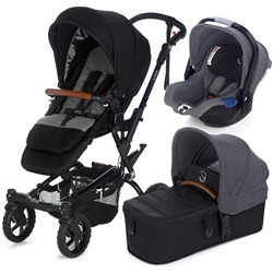 Jane Crosswalk R + Micro + Koos, Jet Black