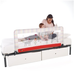 Jane Foldable Bed Rail, Extended Height,130 x 55cm (Option: Holi)