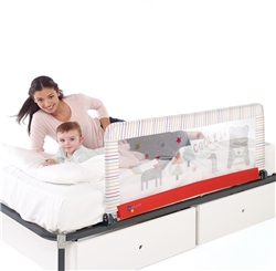 Jane Foldable Bed Rail, Extended Height,130 x 55cm