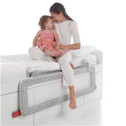 Jane Foldable Bed Rail for Compact Beds,150 x 55cm (Option: Star)