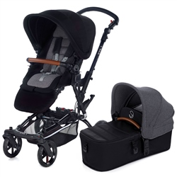 Jane Epic + Micro pushchair & carrycot, Jet Black