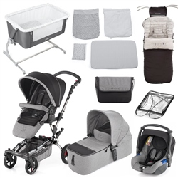 Jane Epic Nursery & Travel system bundle, Soil