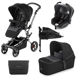 Jane Epic + Micro + iKoos + Isofix Base, Black