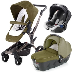 Jane Rider + Transporter + iKoos + Isofix Base, Woods