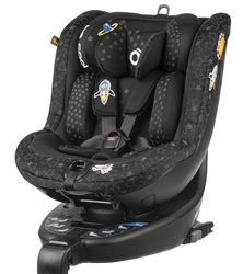 Be Cool O3 Lite, 360° Rotating i-Size Car Seat (Option: Be Galaxy)