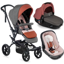 Jane Crosswalk R + Matrix Travel System, Boho Pink