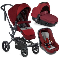 Jane Crosswalk R + Matrix Travel System, Red Being