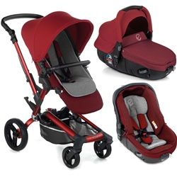 Jane Rider + Matrix Travel System, Red Being