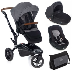 Jane Trider + Matrix Travel System, Jet Black