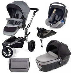 Jane Trider + Transporter 2 + Koos + Isofix Base, Soil