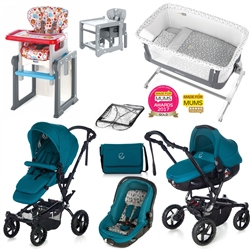 Jane Complete Nursery & Travel System Bundle, Beryl
