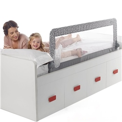 Jane Foldable Bed Rail for Compact Beds,150 x 58 cm