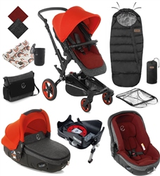 Jane Rider 10 Piece Matrix Travel System Bundle