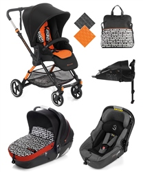 Jane Minnum Sport + iMatrix Travel System, Clouds