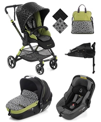 Jane Minnum Sport + iMatrix Travel System, Sky