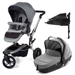Jane Trider + iMatrix + Isofix base, Soil - Chrome