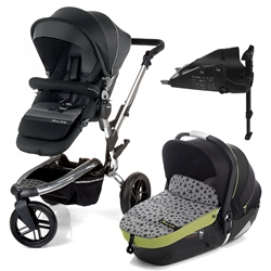 Jane Trider + iMatrix + Isofix base, Black Sky