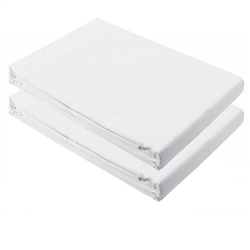 Jane Pack of 2 Fitted Sheets for Jané Babyside Crib