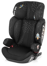 Be Cool Tornado i-Fix car seat (Option: Black Crown)