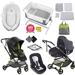 Jane Minnum Matrix Nursery & Travel System Bundle