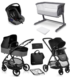 Be Cool Slide-3 Travel System & Nursery Bundle