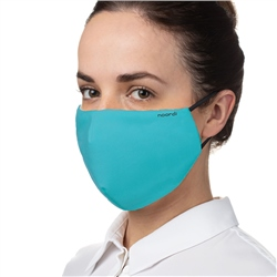 Johnston Prams Antimicrobial Face Mask (Option: Adult - Ocean Blue)