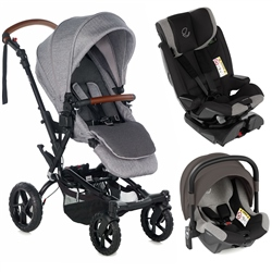 Jane Crosswalk R + Groowy + Nest travel system