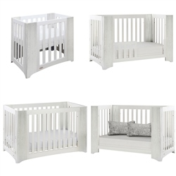 Cocoon Evoluer 4-in-1 Nursery Furniture System, Grey