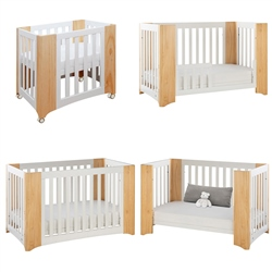 Cocoon Evoluer 4-in-1 Nursery Furniture System, Natural