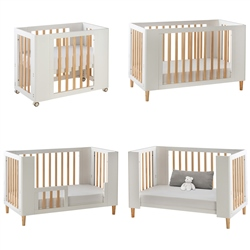 Cocoon Evoke 4-in-1 Nursery Furniture System, Natural
