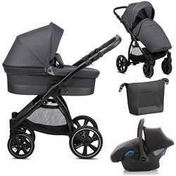 Noordi Sole Go 3in1 Travel System, Black