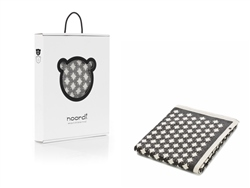 Noordi STAR Cotton Blanket Grey/White