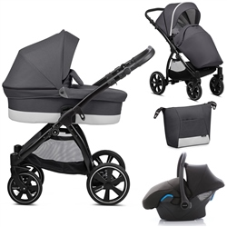 Noordi Sole Go 3in1 Travel System, Antracite