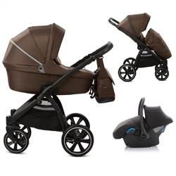 Noordi Fjordi 3in1 Travel System, Chocolade