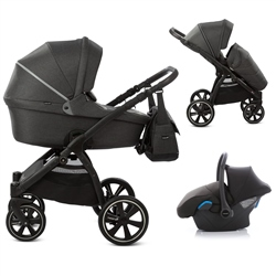 Noordi Fjordi 3in1 Travel System, Black