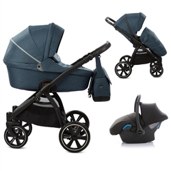 Noordi Fjordi 3in1 Travel System, Jeans Blue