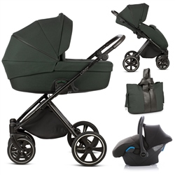 Noordi Luno 3in1 Travel System, Forest Green