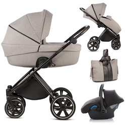 Noordi Luno 3in1 Travel System, Moon Rock