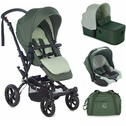 Jane Crosswalk R + Micro + Koos R1 iSize, Forest Green