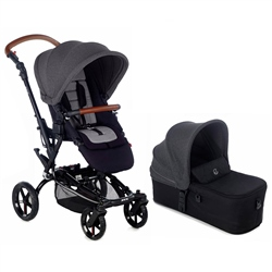 Jane Epic + Micro pushchair & carrycot, Cold Black