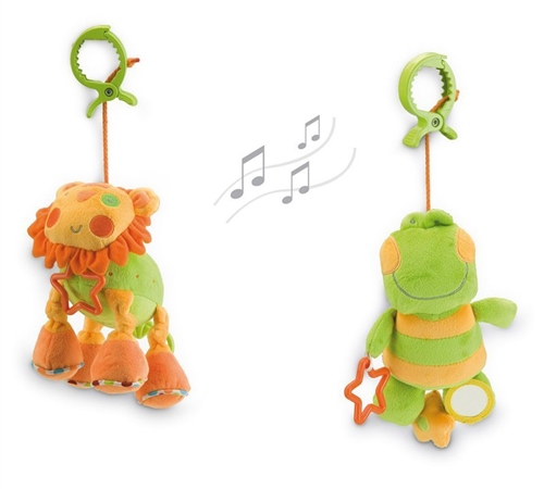 Soft Toy with Music Box  - Click to view larger image