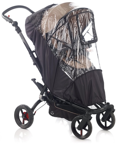 Deluxe Raincover for Pushchair, Nylon, Universal  - Click to view larger image
