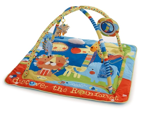 Activity Playmat with Removable bars and toys  - Click to view larger image