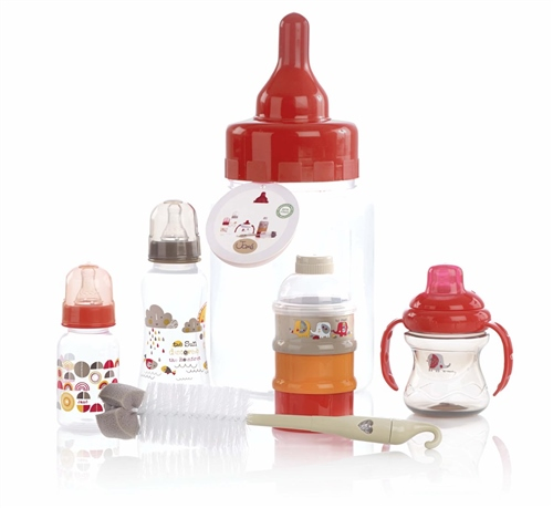 Feeding Bottle Gift Set, Roar  - Click to view larger image