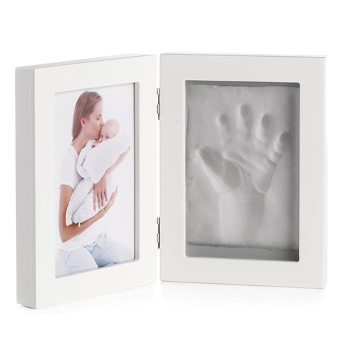 Jane Photo Frame 2 Seg, Hand or Footprint  - Click to view larger image