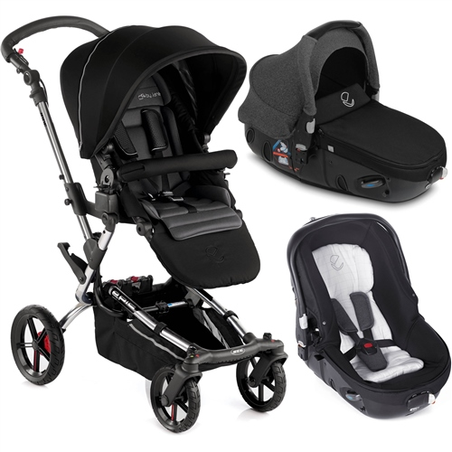 Epic + Matrix Travel System, Black - Chrome