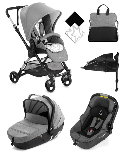 Minnum City + iMatrix Travel System, Rocks  - Click to view larger image