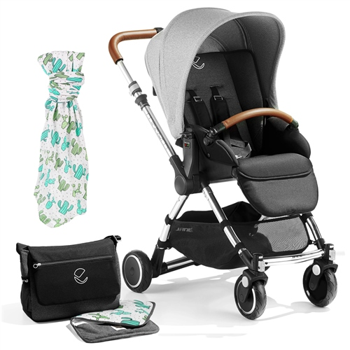 Jane Minnum Pushchair, Special Edition Cactus  - Click to view larger image