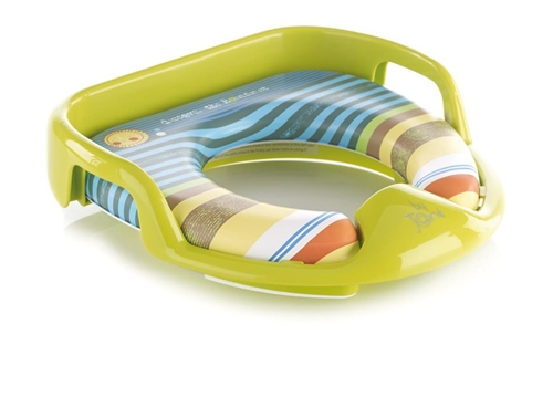 Soft Toilet Training Seat Adaptor with Handles  - Click to view larger image