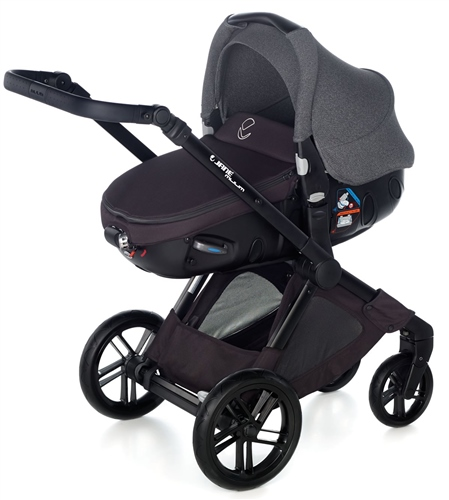 Muum + Matrix Travel System, Jet Black  - Click to view larger image